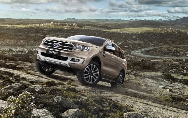 2019 Ford Everest specs