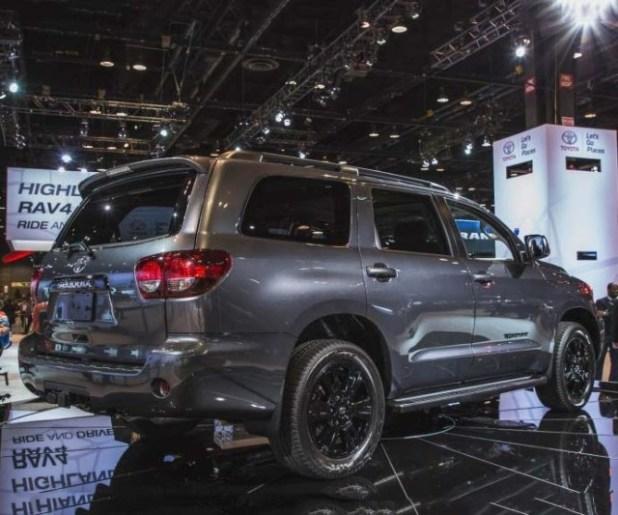 2020 Toyota Sequoia rear view