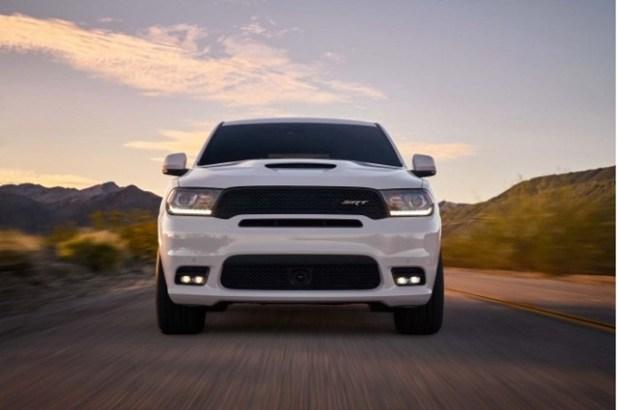 2020 Dodge Durango front view