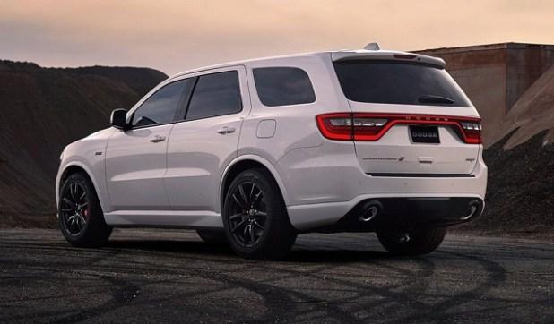2020 Dodge Durango rear view