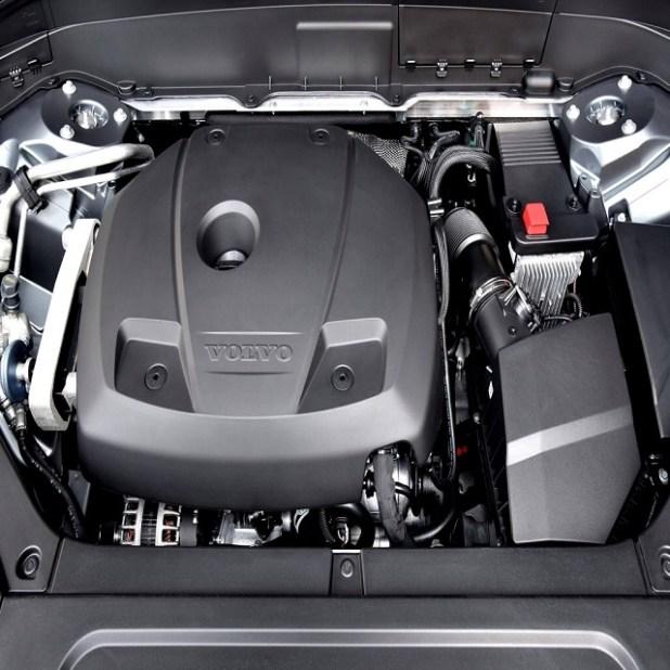2020 Volvo XC90 engine