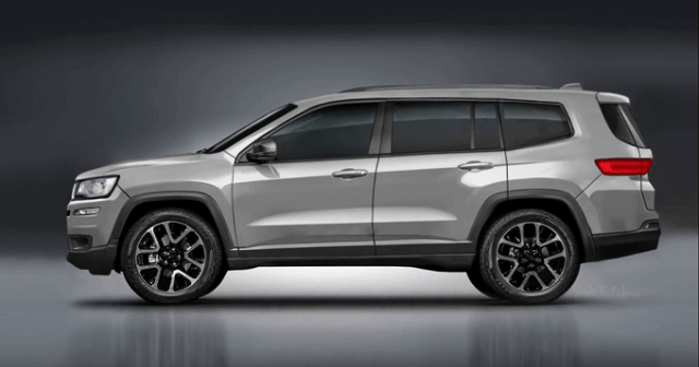 2020 jeep grand wagoneer side view  2019 and 2020 new suv