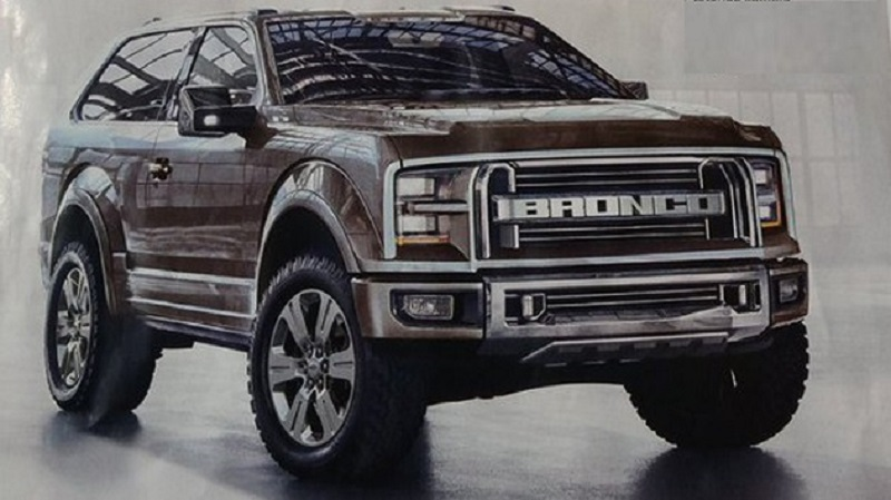 2020 Ford Bronco Diesel Spy Photos Interior And Release Date