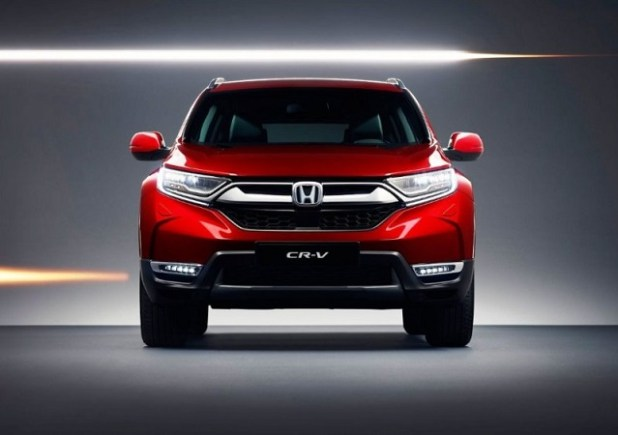 2020 Honda CR-V front view