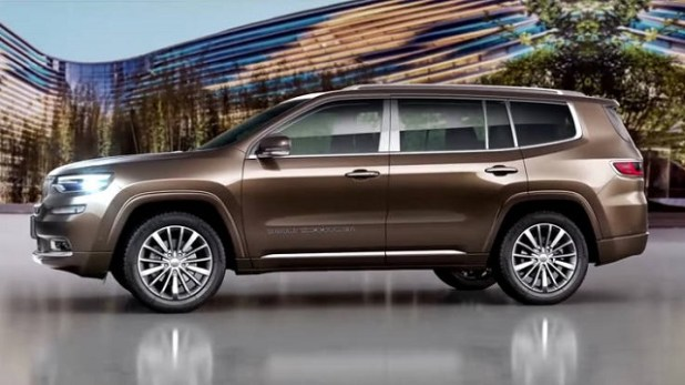 2020 Jeep Wagoneer side view