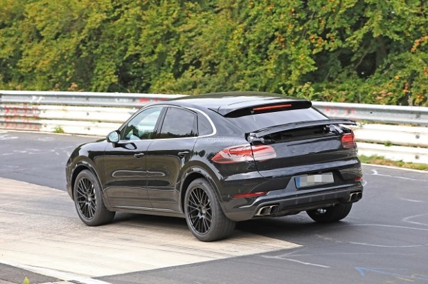 2020 Porsche Cayenne rear view