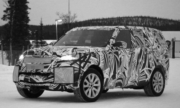 2020 Toyota Land Cruiser spy shots