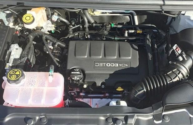 2020 Chevy Trax engine