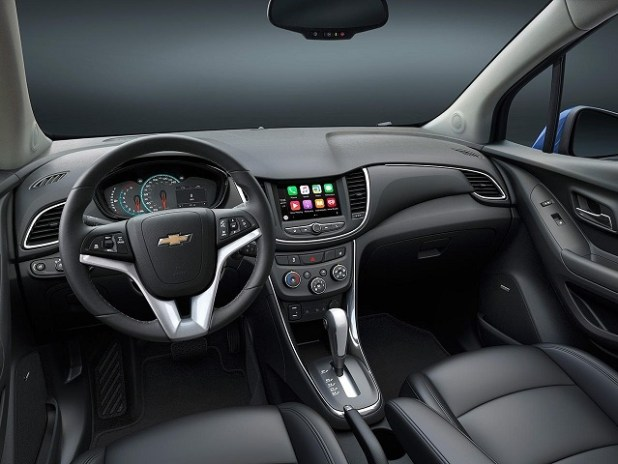 2020 Chevy Trax interior