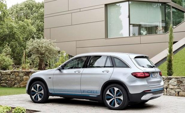 2020 Mercedes-Benz GLC rear view