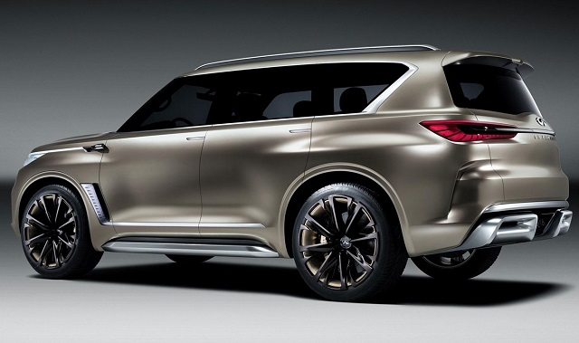 2020 Infiniti Qx80 Rear View 2019 And 2020 New Suv Models