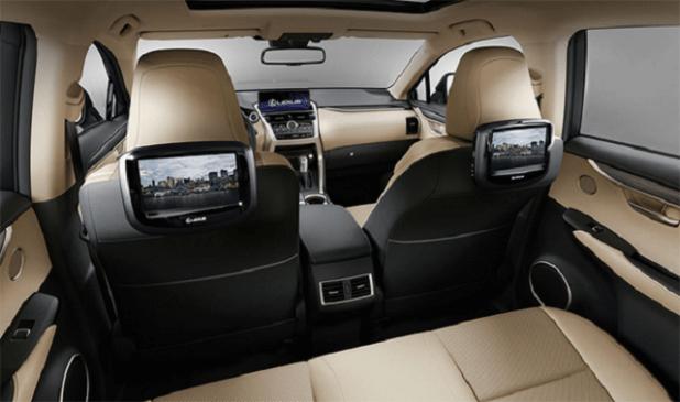 2020 Lexus NX300 interior