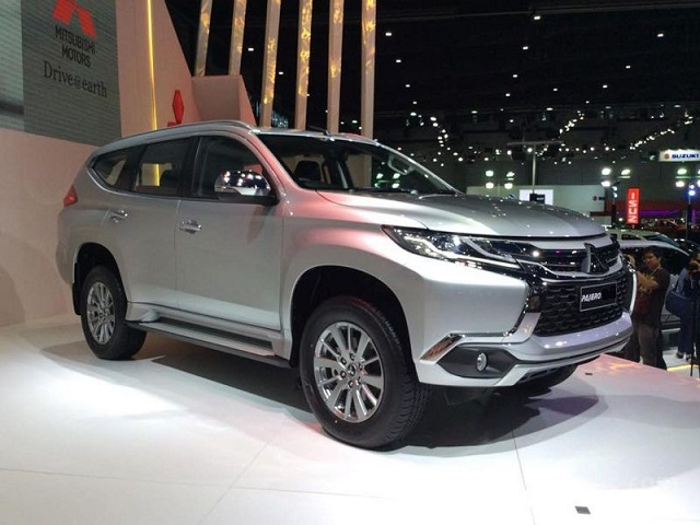 2020 mitsubishi pajero front view - 2020, 2021 and 2022