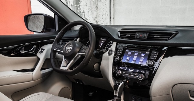 2020 nissan x trail interior