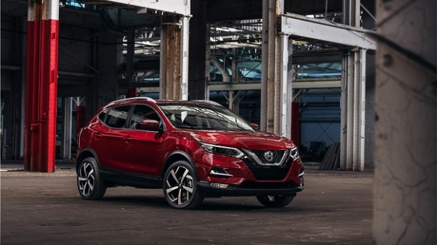 2020 nissan qashqai front view