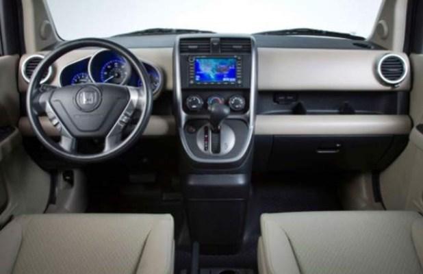 2020 Honda interior