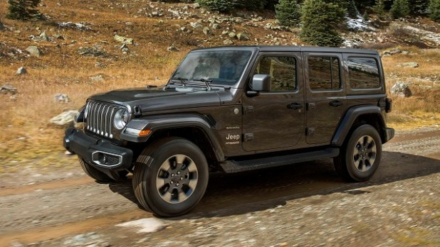 2021 Jeep Wrangler front view