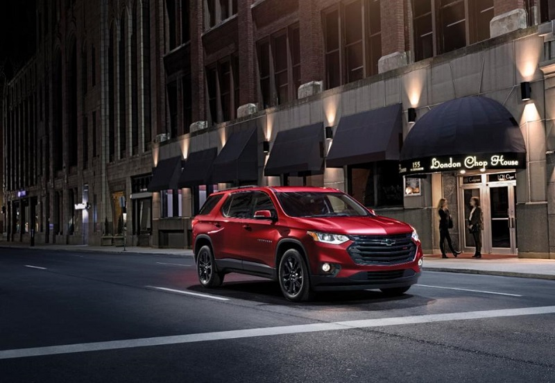 2020 chevy traverse redline edition review