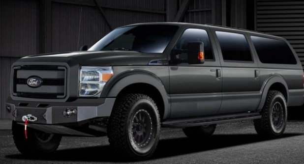 2021 Ford Excursion Rendering photo