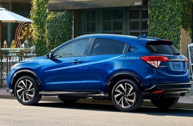 2021 Honda HR-V rear