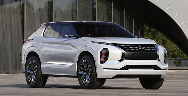 2021 Mitsubishi Outlander Front View 2019 And 2020 New Suv Models