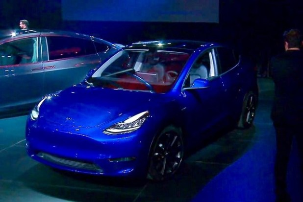 2021 Tesla Model Y front view