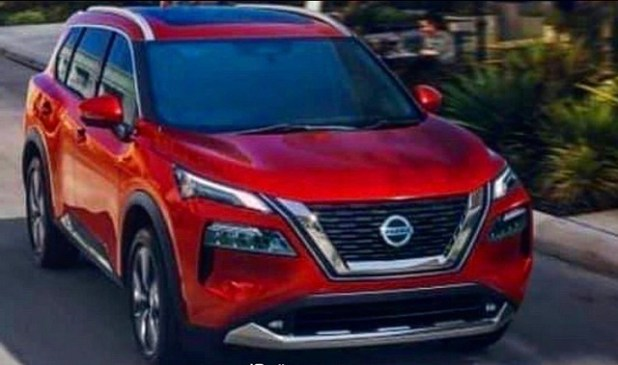 2021 Nissan X-Trail render