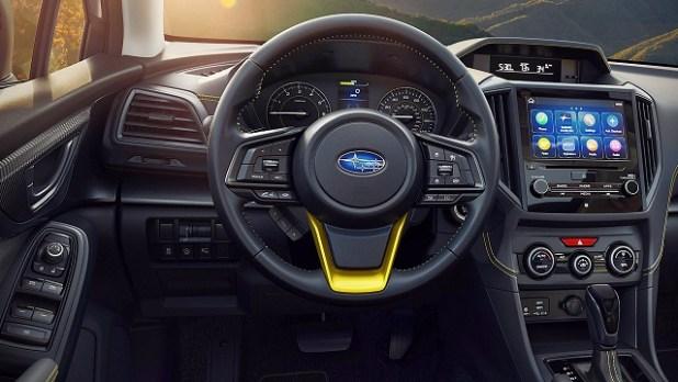 2021 Subaru Crosstrek Sport Interior