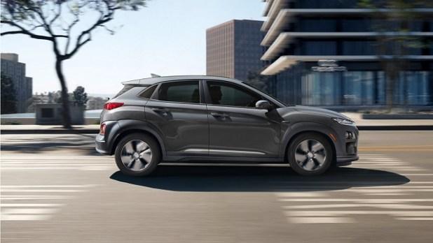 2021 Hyundai Kona EV side