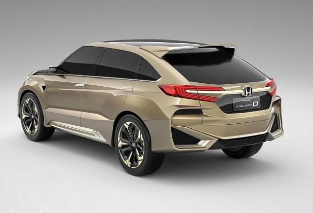 2021 Honda Crosstour rendering