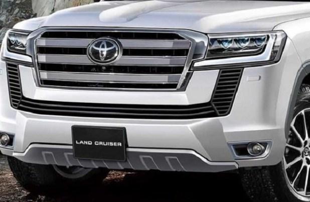 2022 Toyota Land Cruiser grille