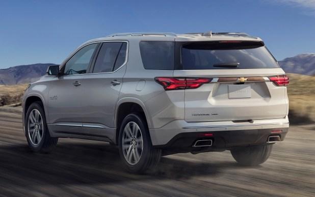 2022 Chevy Traverse price