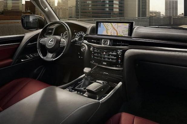2022 Lexus LX 570 Interior