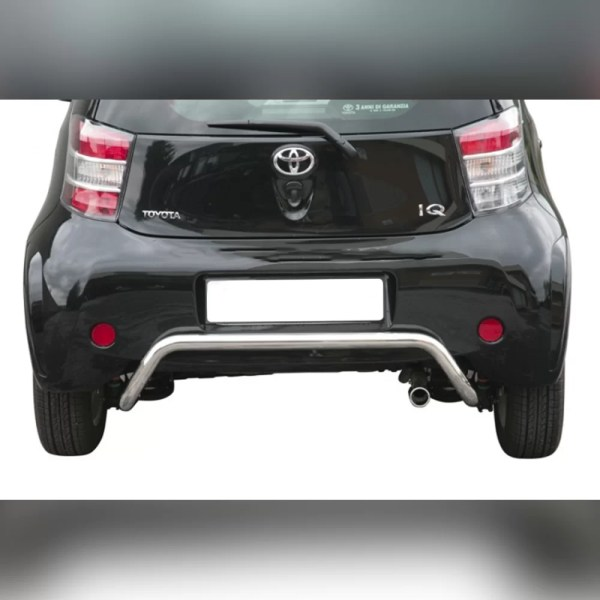 PROTECTION ARRIERE INOX SUR TOYOTA IQ 2009-2015