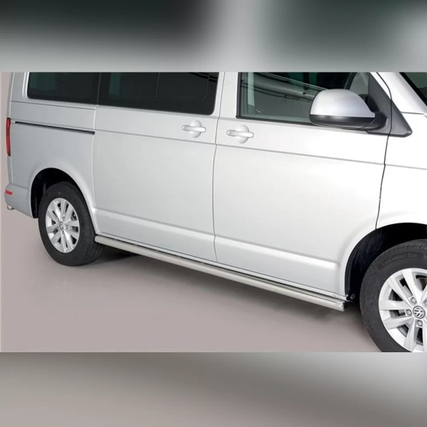 PROTECTION LATERAL INOX SUR VOLKSWAGEN T6.1 2019+ (L1)