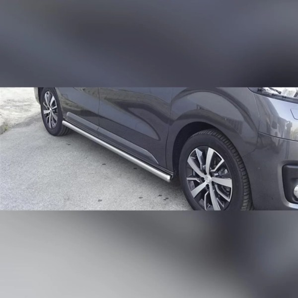 PROTECTION LATERAL TPS INOX SUR TOYOTA PROACE 2016-2019