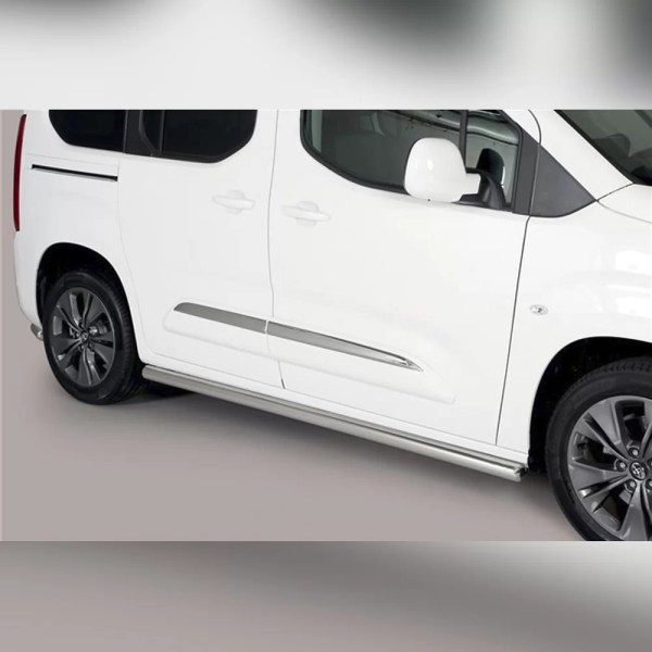 PROTECTION LATERAL TPS INOX SUR TOYOTA PROACE CITY VERSO 2019+ (L1)