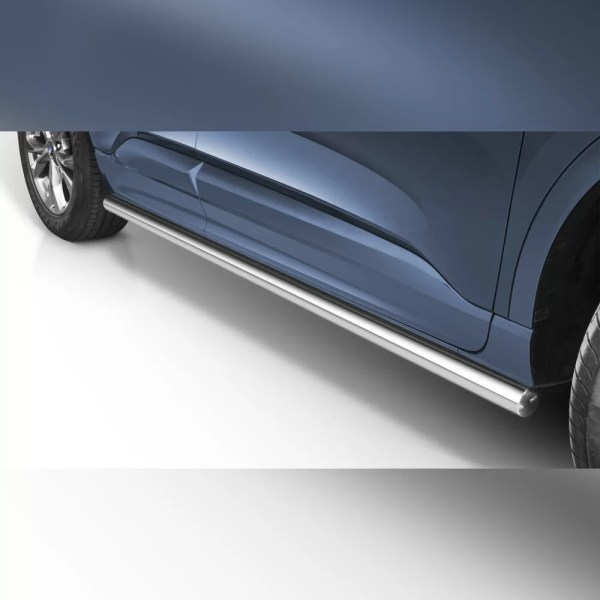 PROTECTIONS LATERALES EN INOX SUR SUR FORD KUGA 2019+