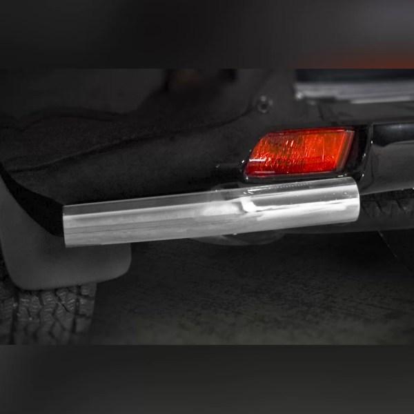 PROTECTION ARRIÈRE INOX SUR TOYOTA LAND CRUISER V8 2012-2016