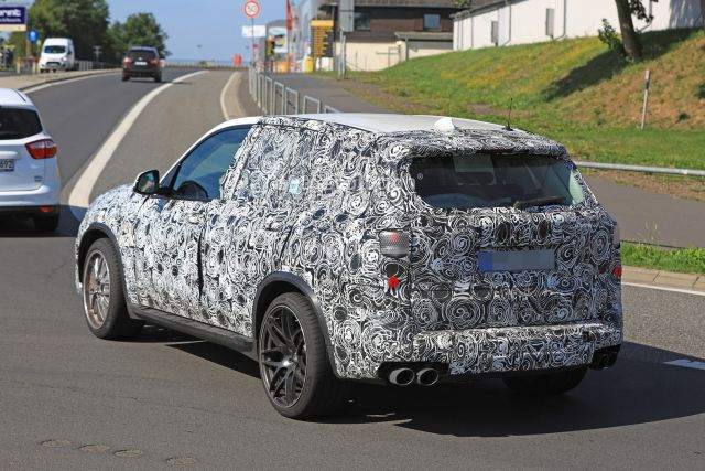2019 BMW X5 M rear
