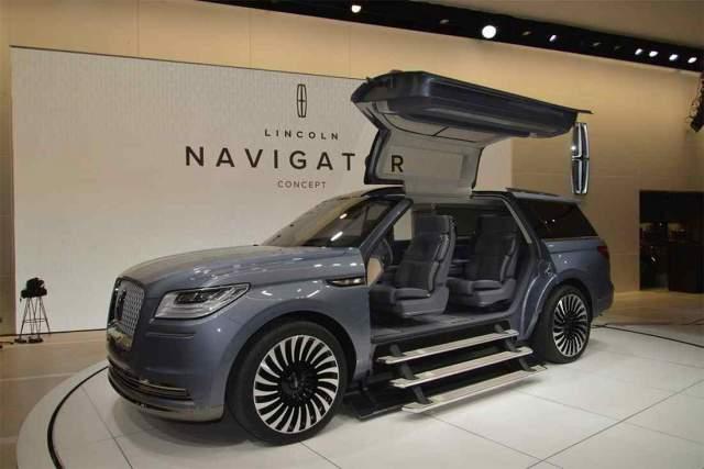 2019 Lincoln Navigator concept