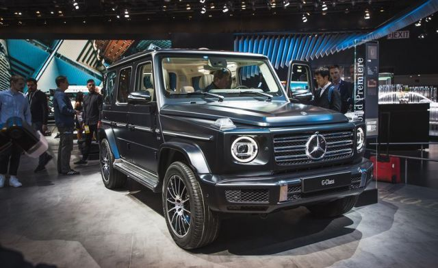 2019 Mercedes-Benz G-Wagon front