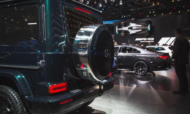 2019 Mercedes-Benz G-Wagon rear