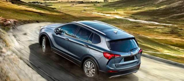 2019 Buick Envision rear