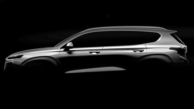 2019 Hyundai Santa Fe side