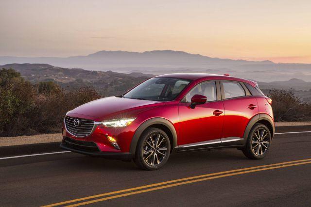 2019 Mazda CX-3 side view