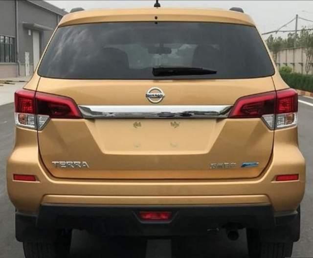 2019 Nissan Xterra rear
