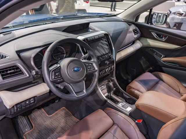 2019 Subaru Ascent interior
