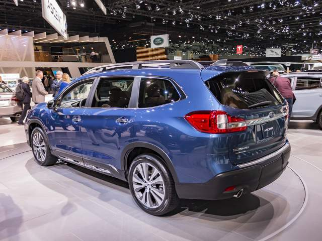 2019 Subaru Ascent rear