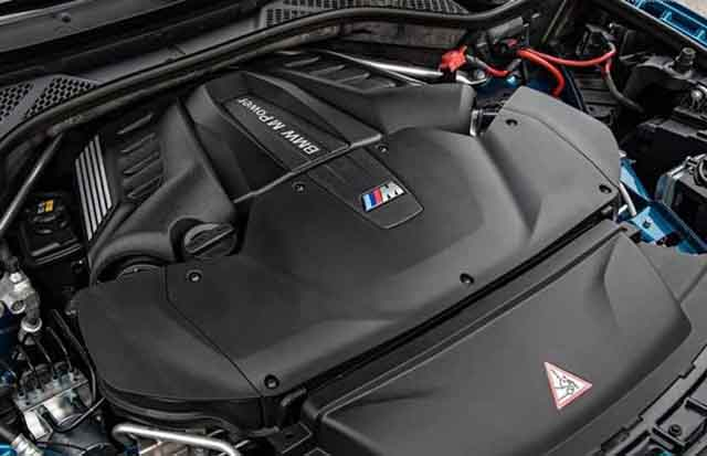 2019 BMW X6 M engine